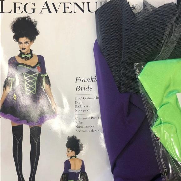 Leg Ave Frankie's Bride Costume - MD / LG